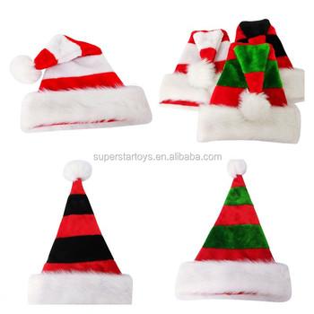 fae6d363a5a7d 3170813-29 Christmas Double Color Festival Hat