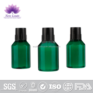 Eco friendly custom design no spill plastic cosmetic PE plastic portable Travel shampoo bottle for lotion/shampoo/hair condition