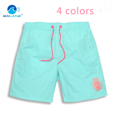 2015  Solid Swimming Board Shorts Quick Dry Bermuda Surf Silver Sport Fashion And Relax Brand Short Men Surfing Beachwear XXL