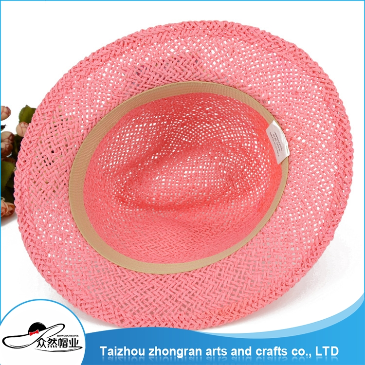Low Price Factory Supply Waterproof Sun Visor Cap Beach Style Folding Straw Hat Caps