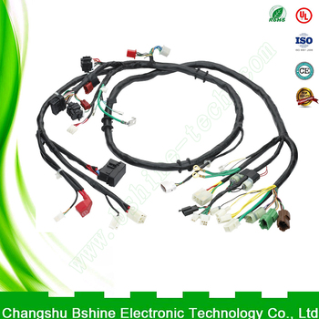 custom wiring harness for cars custom production extension cable wiring harness ... custom wiring harness manufacturer