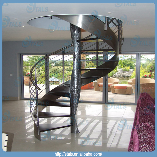 Factory Custom Indoor Spiral Staircase Stainless Steel Spiral Staircase    Buy Spiral Staircase,Indoor Spiral Staircase,Stainless Steel Spiral  Staircase ...