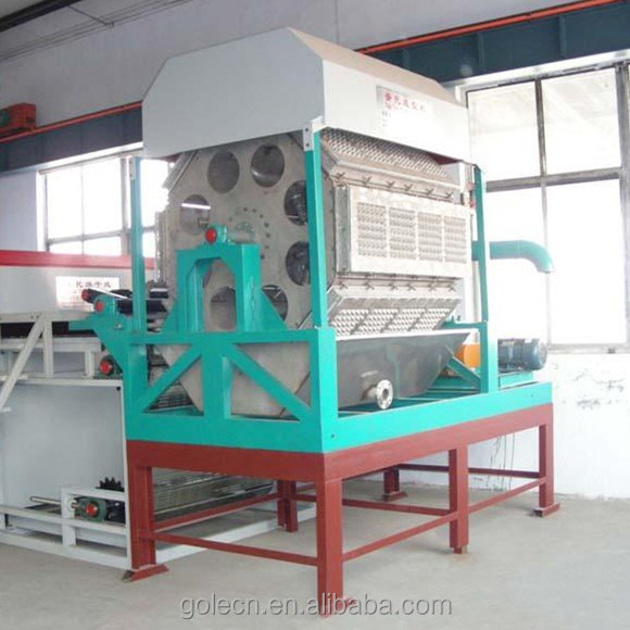FACTORY egg tray making machine price/paper pulp egg tray/egg tray production line