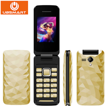 New Arrival Flip Phone 2.4 inch GSM MTK6261D Quad Band Dual SIM Card MP3MP4 Camera Unlocked Cell Phone S3