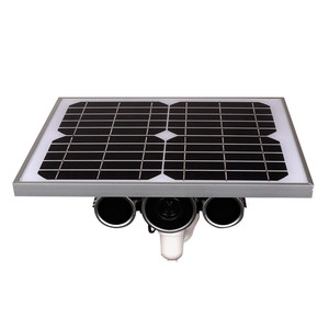 Wireless Surveillance Solar Power IP Camera