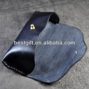 hot sale eyewear carrying cases, genuine leather glasses case