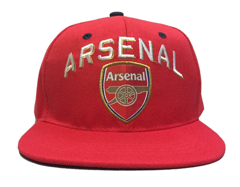 47f121aeac0 Get Quotations · Arsenal FC Snapback Adjustable Cap Hat