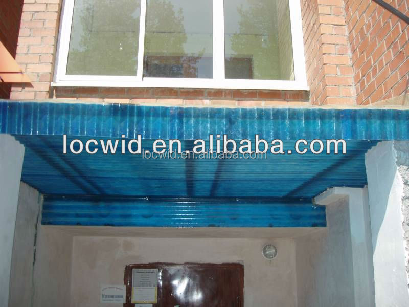 FRP door rain/sun awning/guard