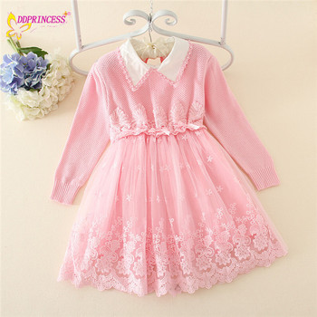 f92d2d5014f4a Autumn 2015 hot sale!!! new children frock clothing sweater dress hand knit  baby