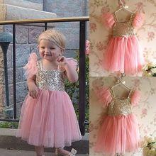Baby Kids Girls Gown font b Fancy b font font b Dress b font 2 7Y