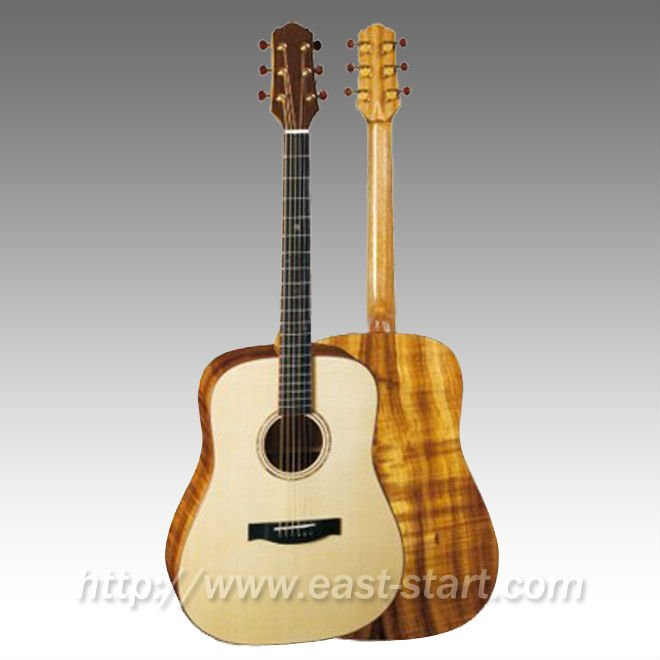 Handmade All Solid Dreadnought Acoustic Guitar