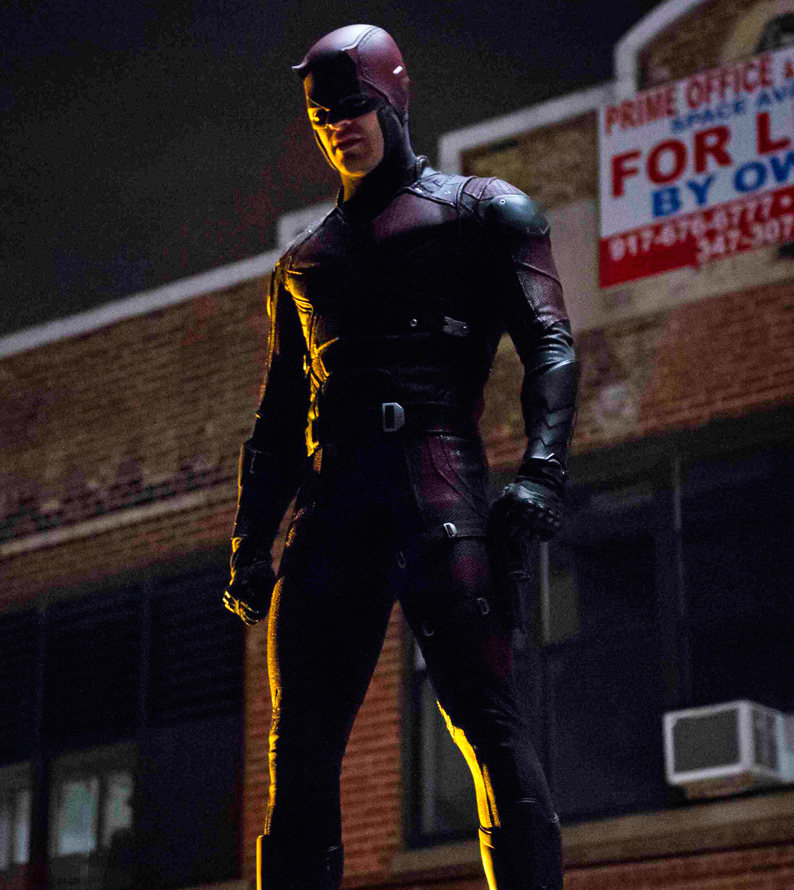 The First Netflix Daredevil Trailer Is Out: Custom Made Movie Daredevil Costume Suit Adult Men's