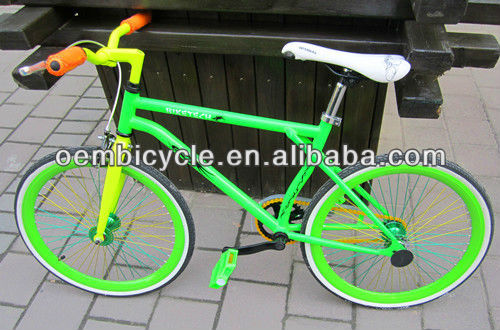 20 inch with green color fixed gear bicicle kids fixed gear bike bicycle