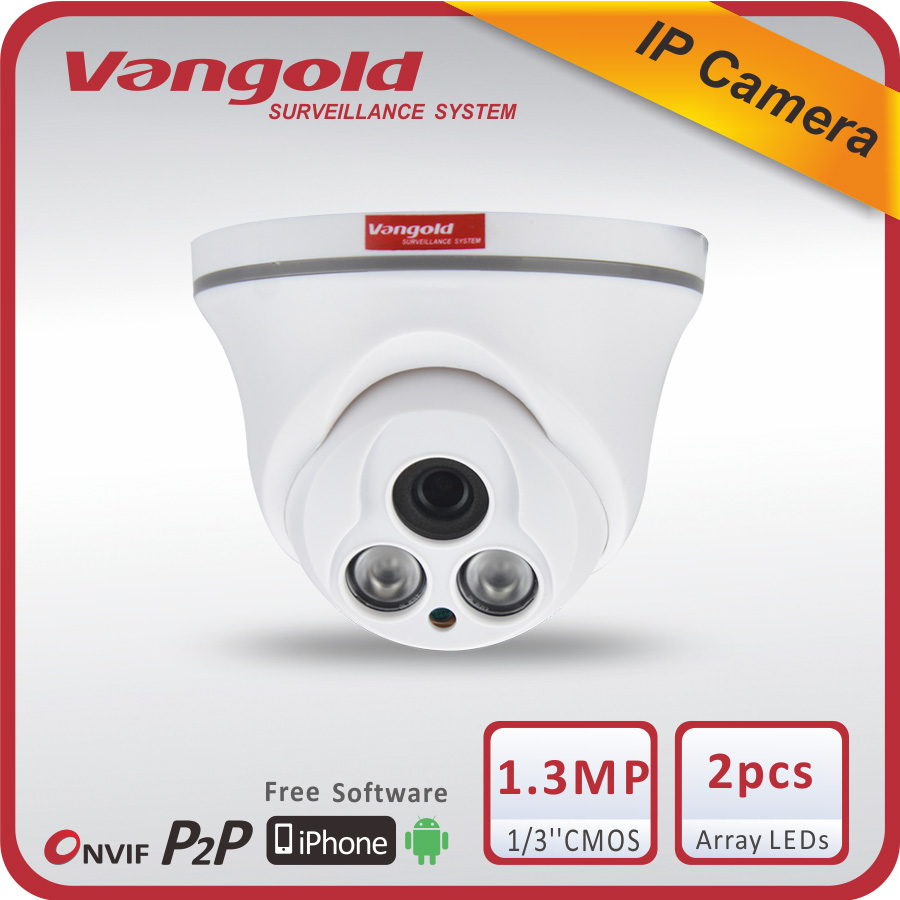 H.264 1.3mp HD CCTV P2P ONVIF array wifi IP camera, wireless cctv camera connect with cellphone or mobile phone
