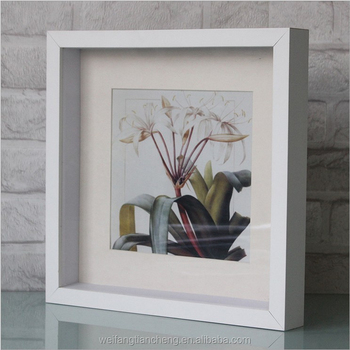 china thick deep shadow box photo frames wholesale cube shadow box picture frames bulk - Shadow Box Frames