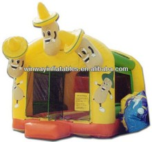inflatable barn/farm bouncer, bounce houses, inflatable moon jump W1147