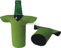 Beer cover T-shirt bottle cooler holder