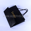 Matt lamination Cosmetic Paper Bag with Hot Stamping Logo