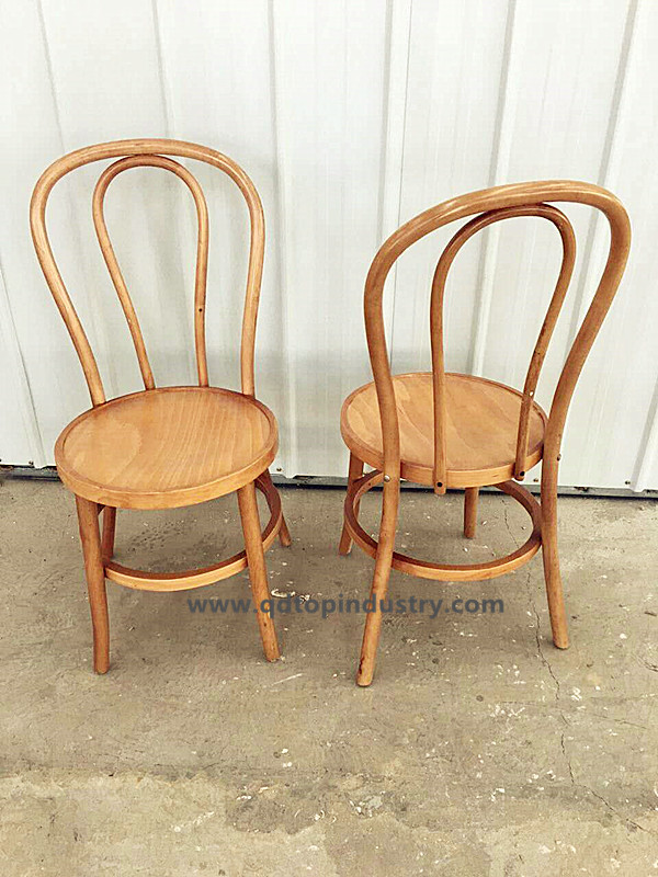 Natrual Bentwood Stacking Thonet Chair Buy Bentwood