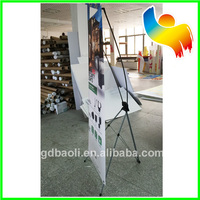 Wholesale manufacturing carbon fiber floor x banner stand