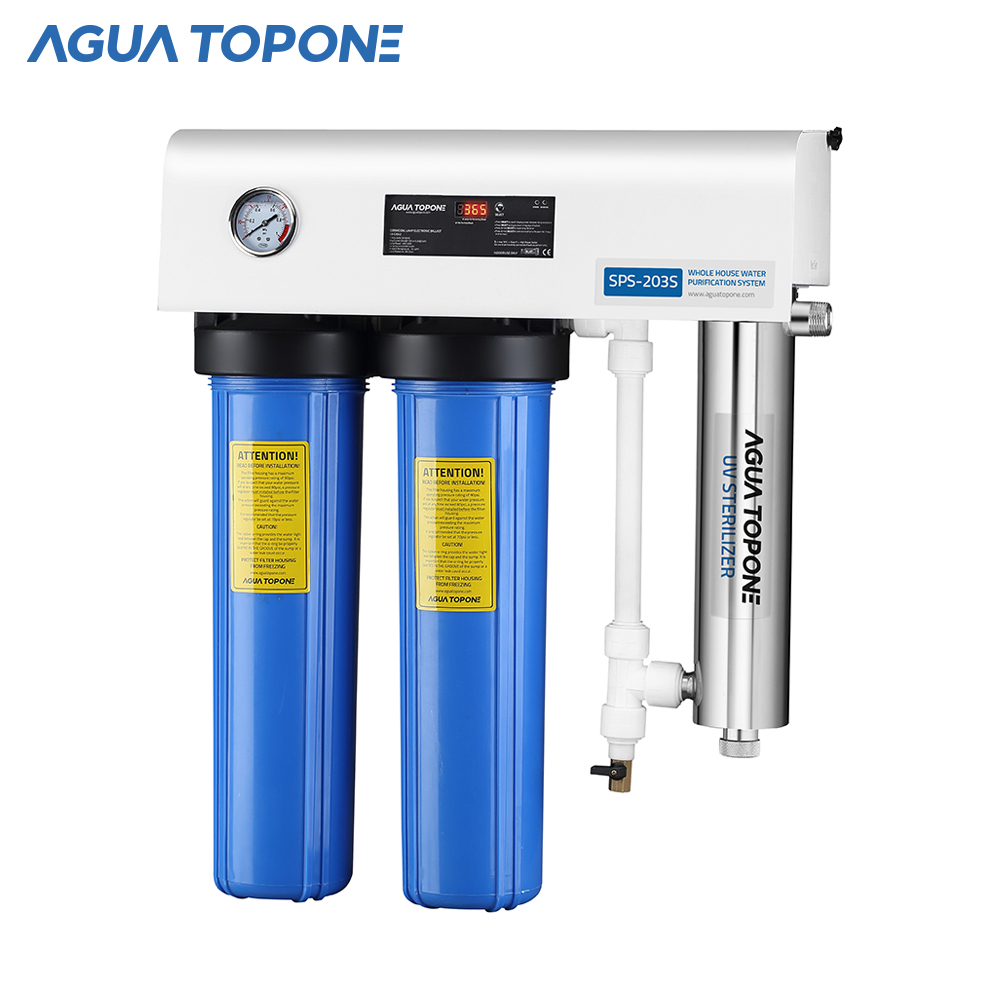 Agua Topone drinking <strong>water</strong> household 20inch <strong>water</strong> filters <strong>system</strong> with UV