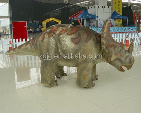 Amusement dinosaur ride for kids as well as adults walking dinosuar