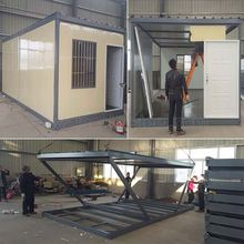 ISO test popular design folding container storage house as modular homes