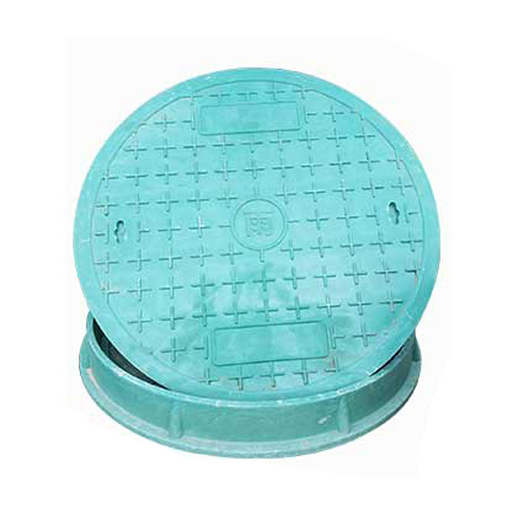 High polymer gasket for manhole cover