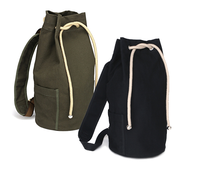 68f0d43f87 2015 large capacity drawstring backpack men canvas bucket bag concise high  quality