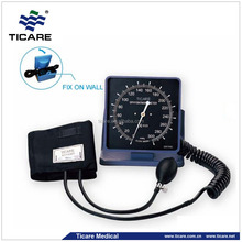 Dual purpose ABS square gauge aneroid sphygmomanometer