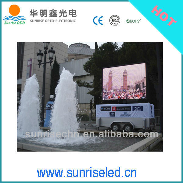 Deliver on time, Outdoor street big Video Billboard LED Advertising Screen