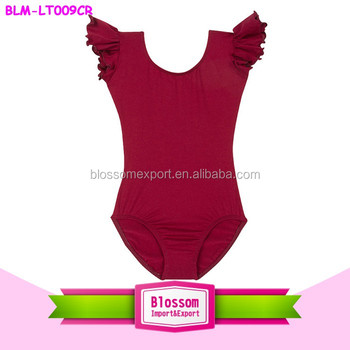 Gymnastics Leotards Customized Kids Training Dance Wear Baby Girls ...