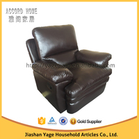 2015 Genuine leather for sleeper recliner sofa