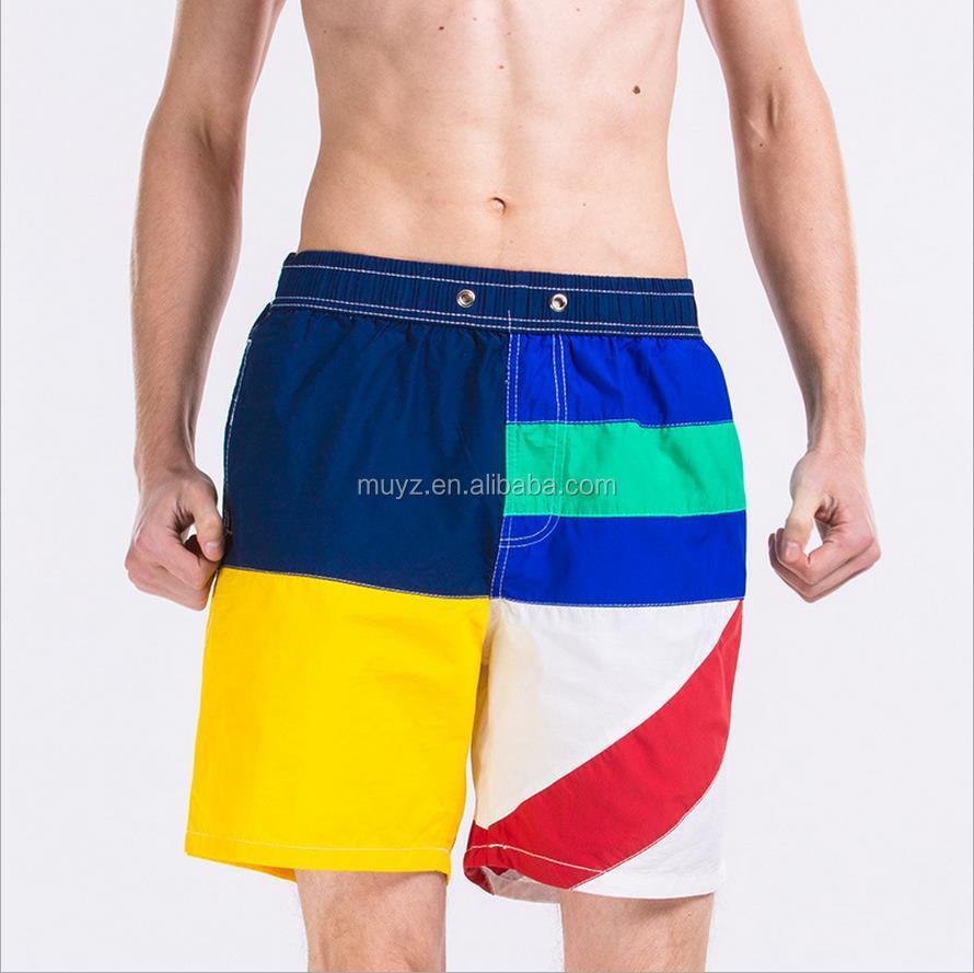 L0702a Best Men Clothing Sublimated Board Shorts Floral Print Slim