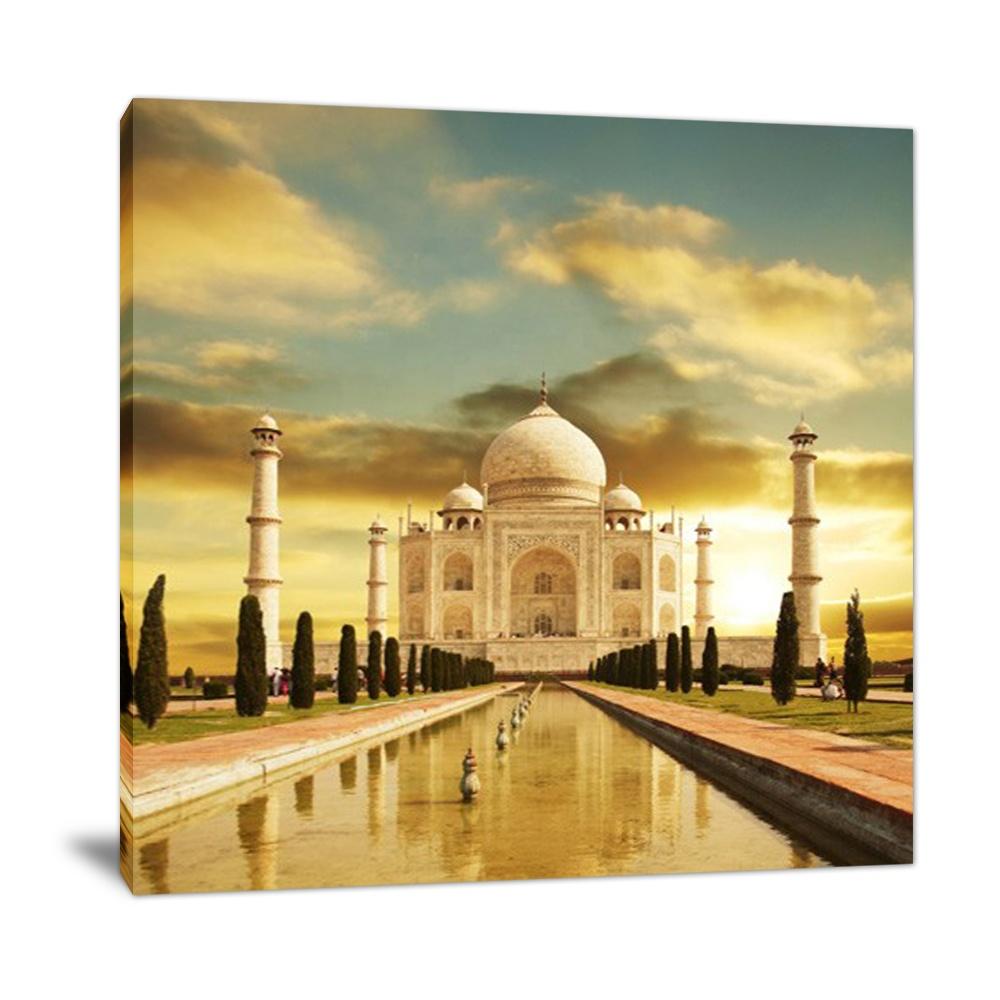 Cuadros Decorativos Para Salas Modernos Majestic Taj Mahal Architectuur Print