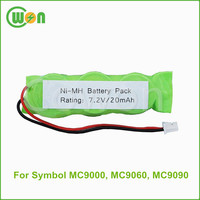 Ni-MH button cell battery pack 7.2V 20mAh replacement battery for Symbol MC9000 MC9060 MC9090 rechargeable battery