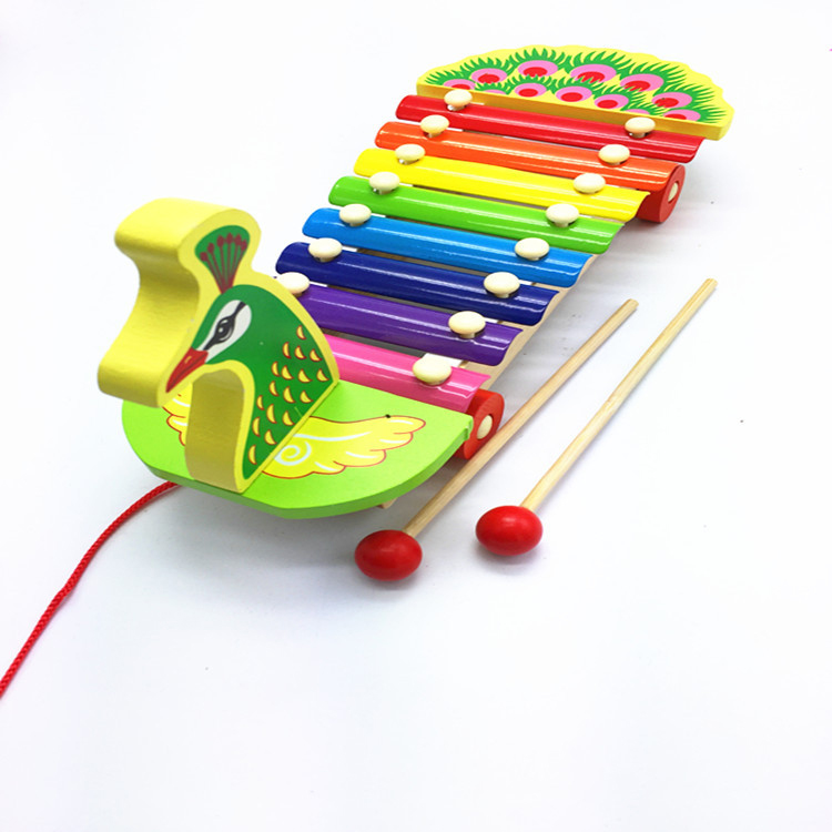 Infant for kids percussion wooden instrument educational toys xylophone