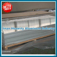 High quality 1100 1050 2024 3003 5052 5083 5086 6061 6082 7021 7075 Aluminum Sheet
