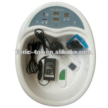Ion Spa Detox Machine Wth-103 With Massage Patches Remote Control ...