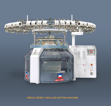 High speed single jersey circular knitting machine with high production