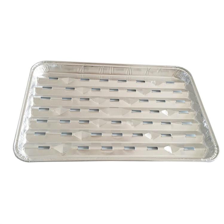 disposable pollution-free aluminum foil barbecue sheet, BBQ grilling trays
