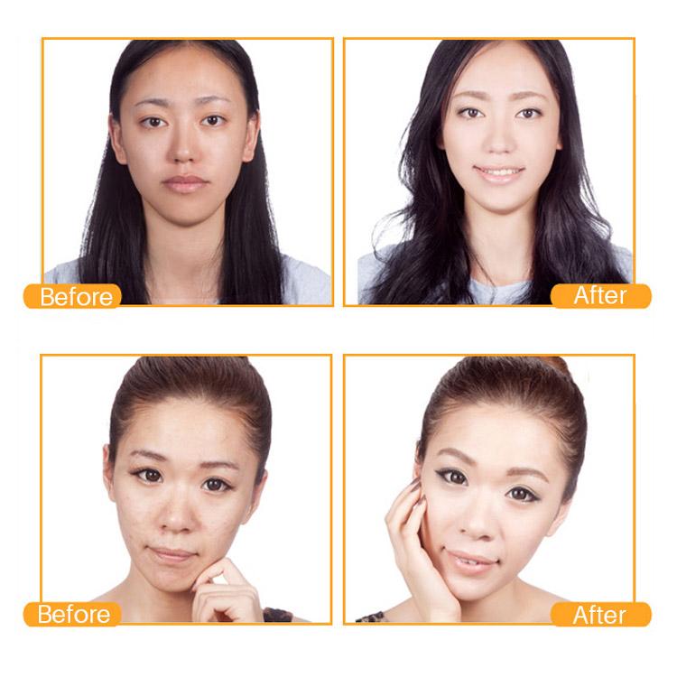 Bio Beauté Cosmétiques En Gros En Cristal De Collagène de Beauté Or 24 K Or Collagène Masque Facial