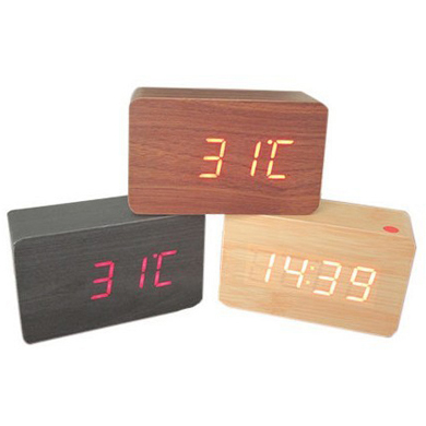 Hot Sales Antique Wooden Stand Clock for Promotion
