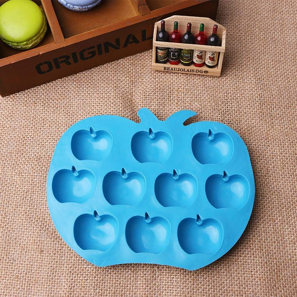 WFENGT colorful 1 Best DIY LOVE Decorating Star Wavy Circle Flower Cake Heart Silicone Bakeware Chocolate Candy Mold Decorating Tools DIY cute anti-dust Silicone Mold