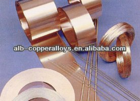 C17200 Alloy25 copper beryllium strip