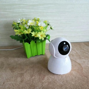 Made In China Mobile App Remote Wireless Hidden CCTV 360 Degree WiFi Rotation PTZ Robot P2P V380 IP Camera HD For Indoor Use