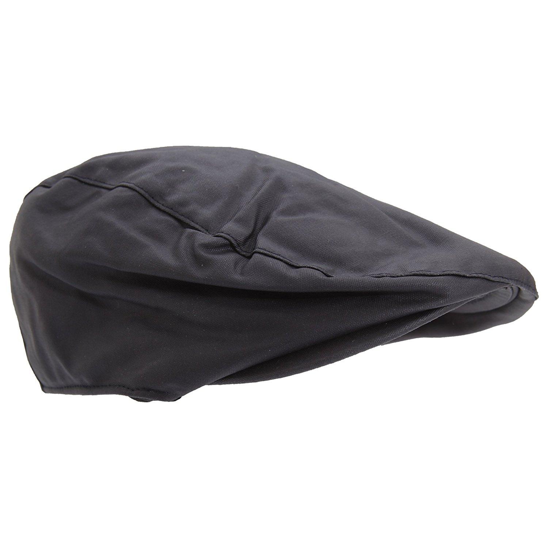 df8bd55a66155 Get Quotations · Universal Textiles Mens Waxed Flat Cap with Tartan Lining