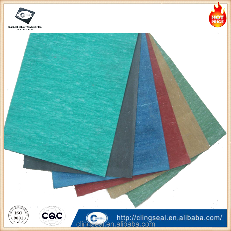Compressed asbestos free fiber gasket sheet