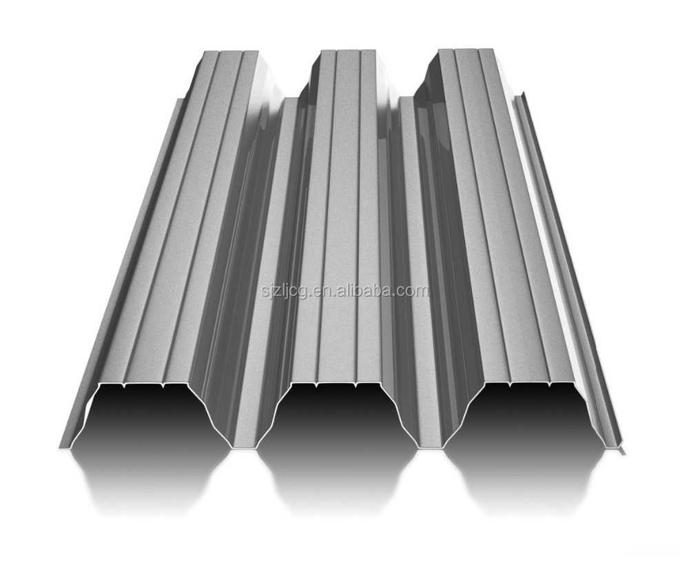 Carport roofing sheet / metal roof flashing T135
