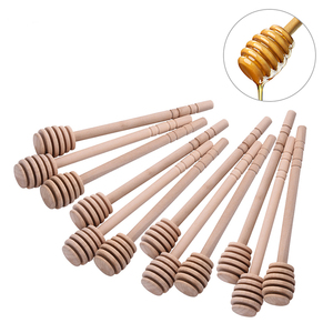 Wholesale Natural Wooden Honey Spoon for Tea